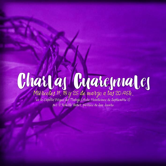 CHARLAS CUARESMALES 2020