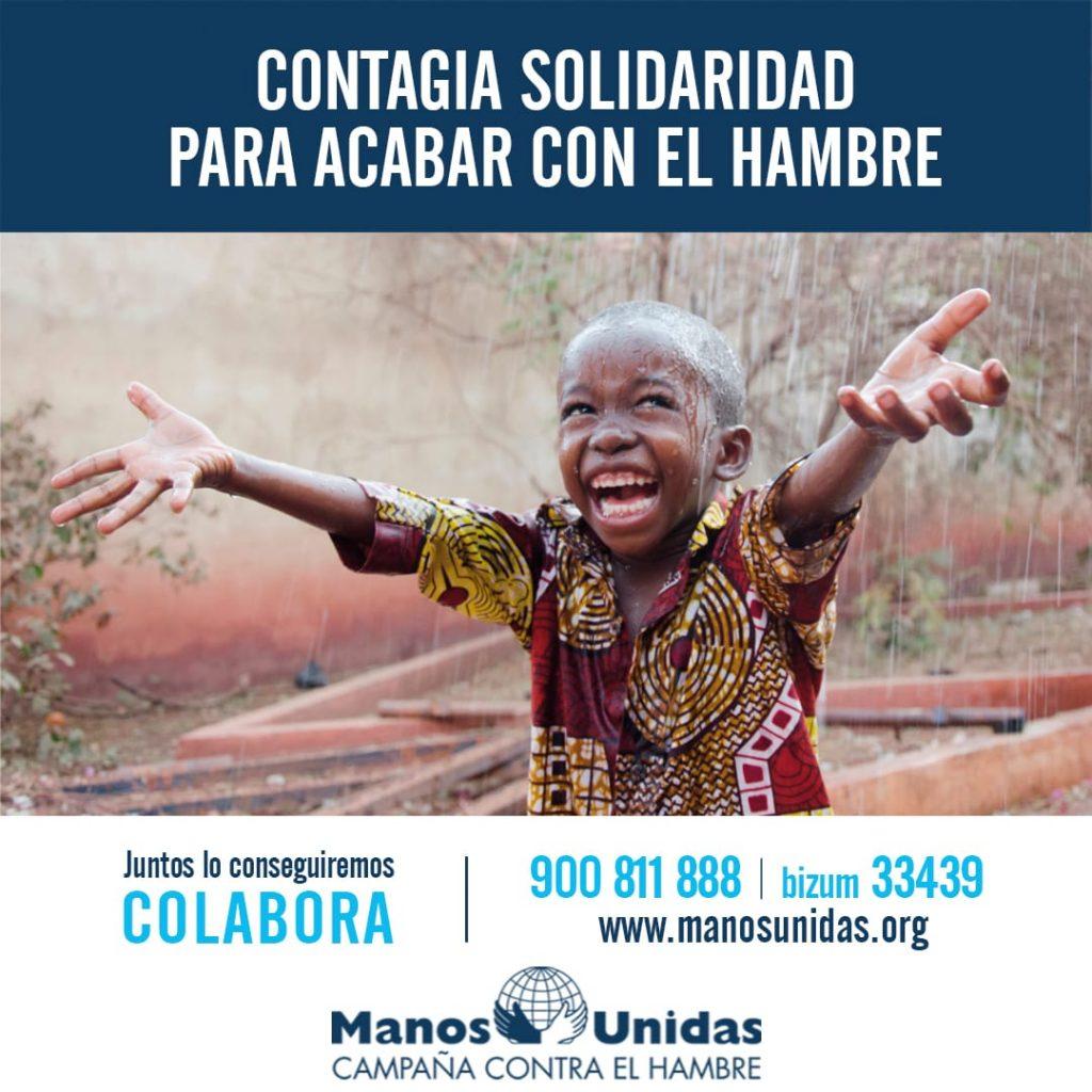 Colecta de Manos Unidas contra el hambre