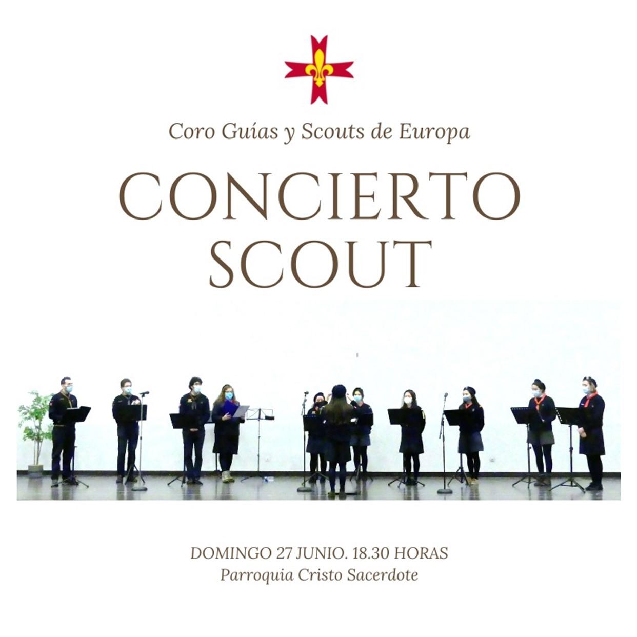 Concierto Scout en la parroquia