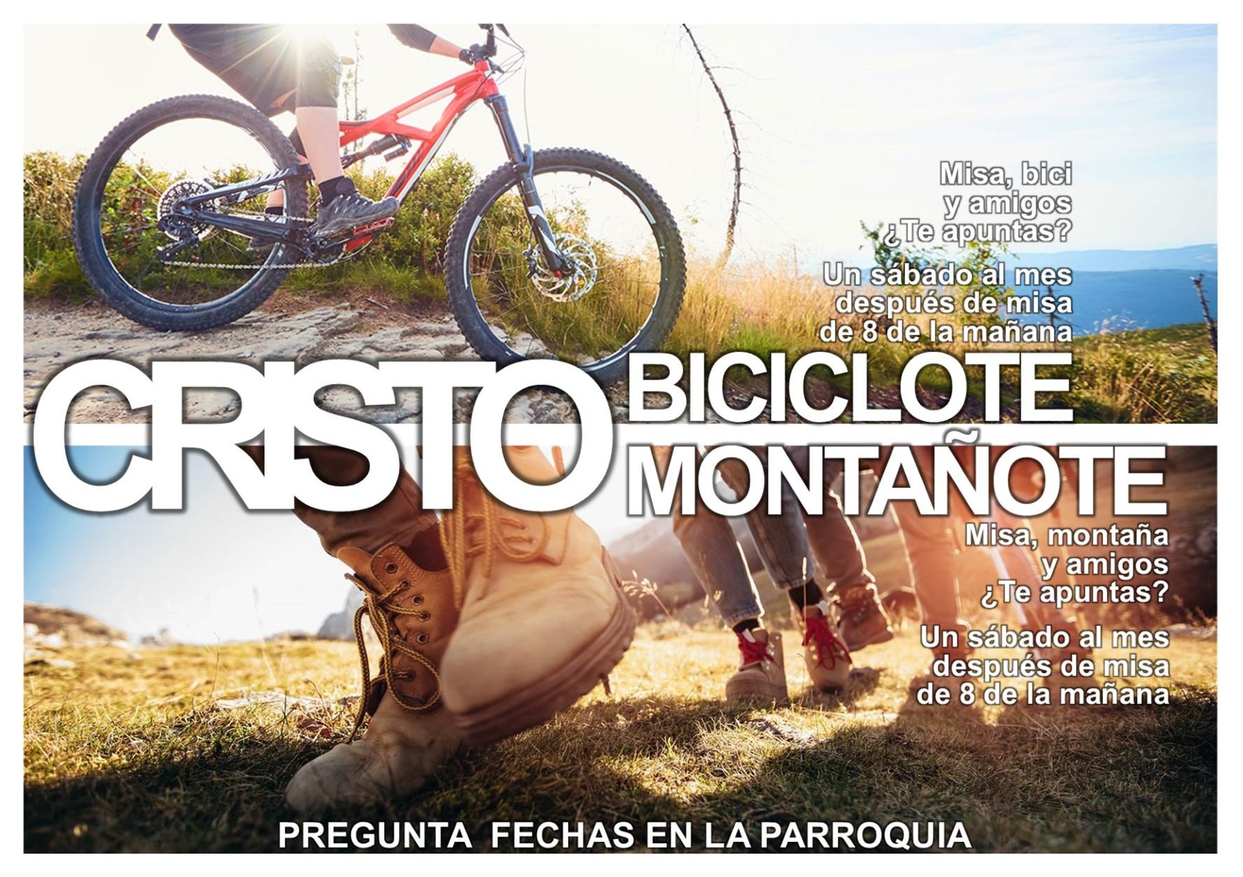 Nacen «Cristo Montañote» y «Cristo Biciclote»